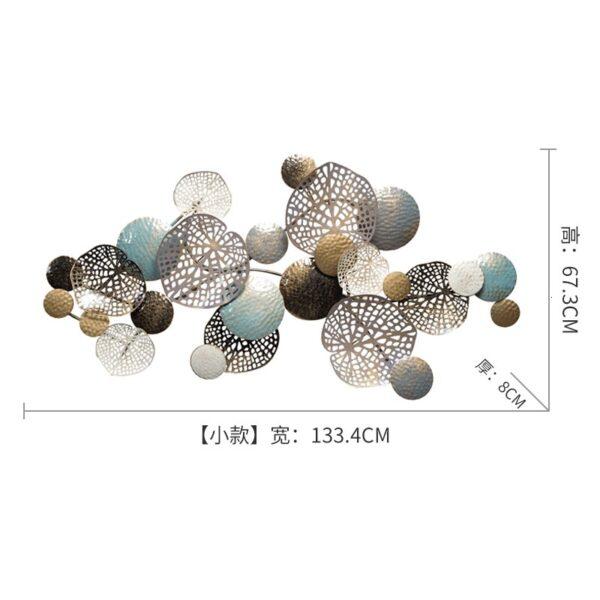 فقاعات الجدارة المعدنية اكسسوارات جدارية
