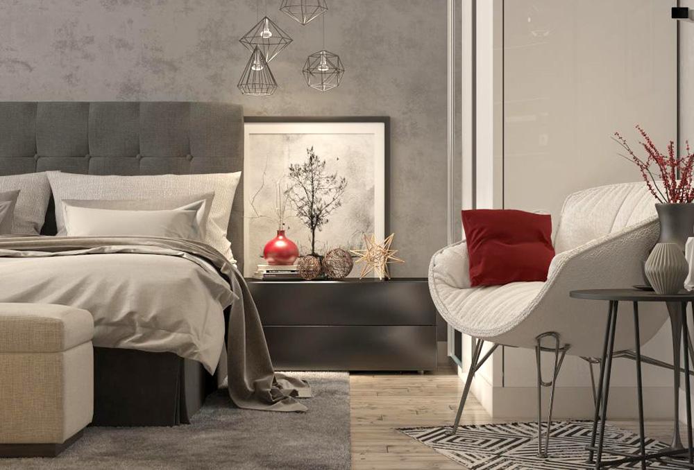 أفكار ديكور غرفة نوم على الطراز الأوروبي