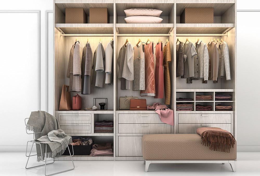 ديكورات غرف الملابس الفاخرة |  مجلة سيدتي