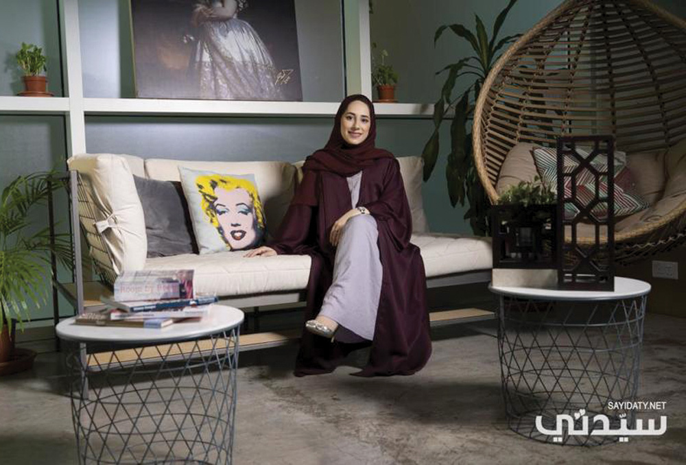 المصممة الداخلية والفنانة الإماراتية مريم السويدي: أحب تقديم الفن الإسلامي بشكل معاصر