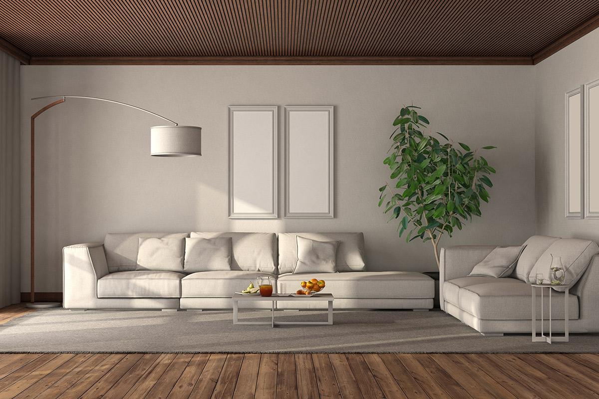 ديكورات الاسقف الخشبية الحديثة |