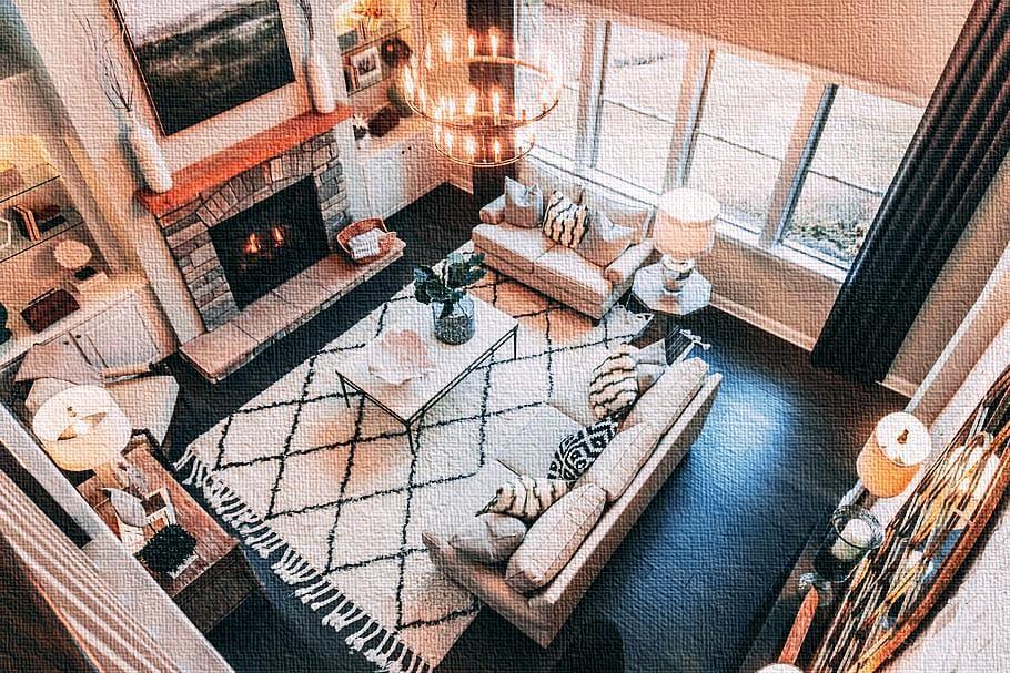 غرفة المعيشة (المفروشات وأسس التصميم) – 2021 تصميم …