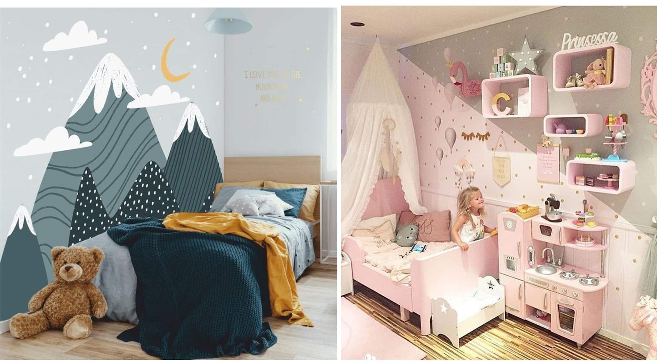 غرفة الأطفال – ما الذي يناسب أطفالنا؟  طريقة تأثيثها والديكور المناسب – بعدسة مهندس معماري 2020 غرفة اطفال