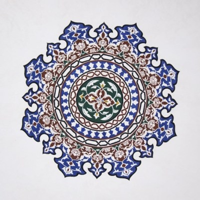 Interior design in Islamic style