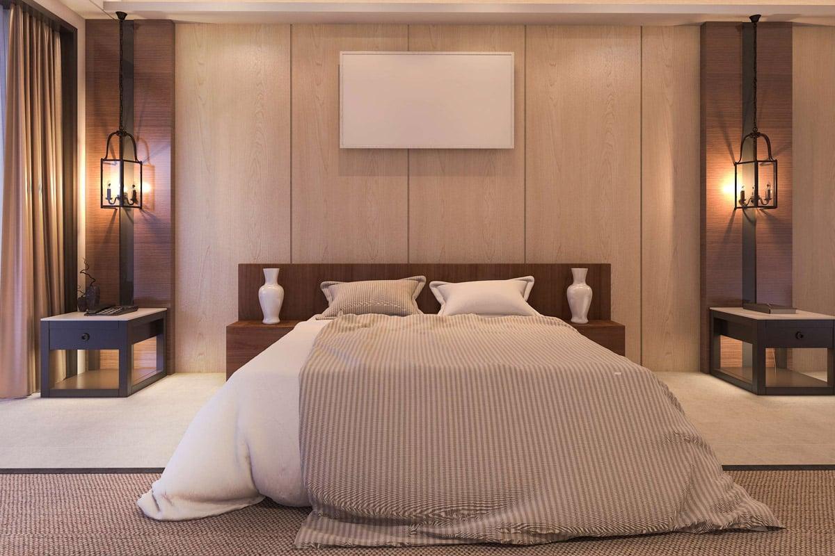 ديكورات غرف نوم فخمة ورومانسية