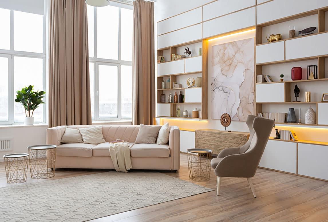 أفكار تجديد غرفة ضيوف بسيطة