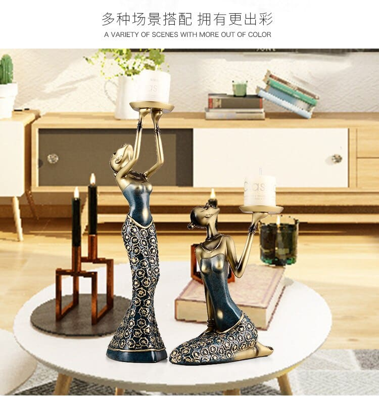 Wine Cabinet Decorations Candle Holder Home Decor Creative Living Room Candle Holeder Wedding Centerpieces Home Decoration