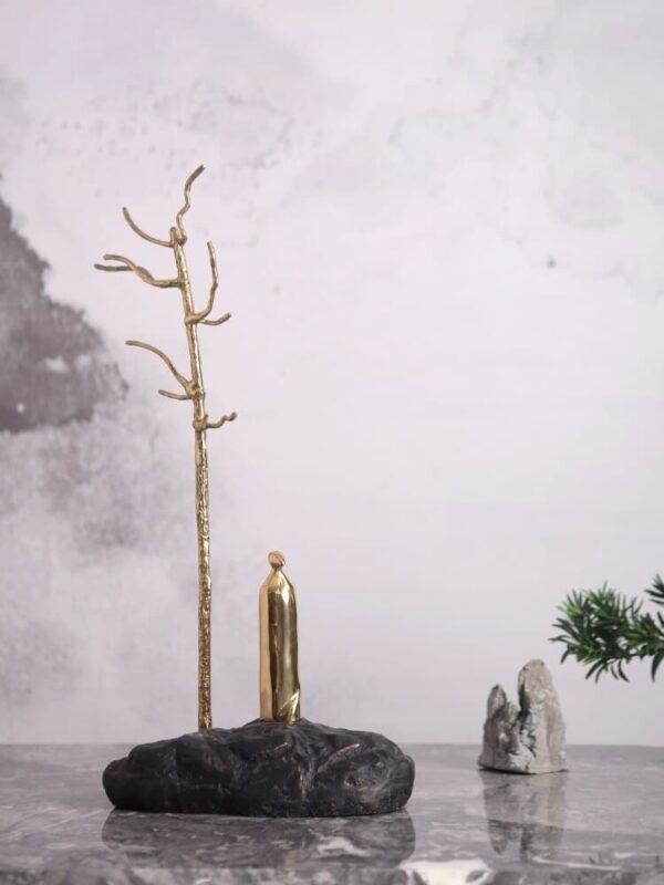 انتيكا رجل الشجرة الذهبي اكسسوارات منزلية