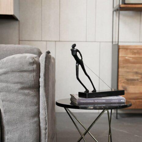 انتيكا تمثال جارر الحبل اكسسوارات منزلية