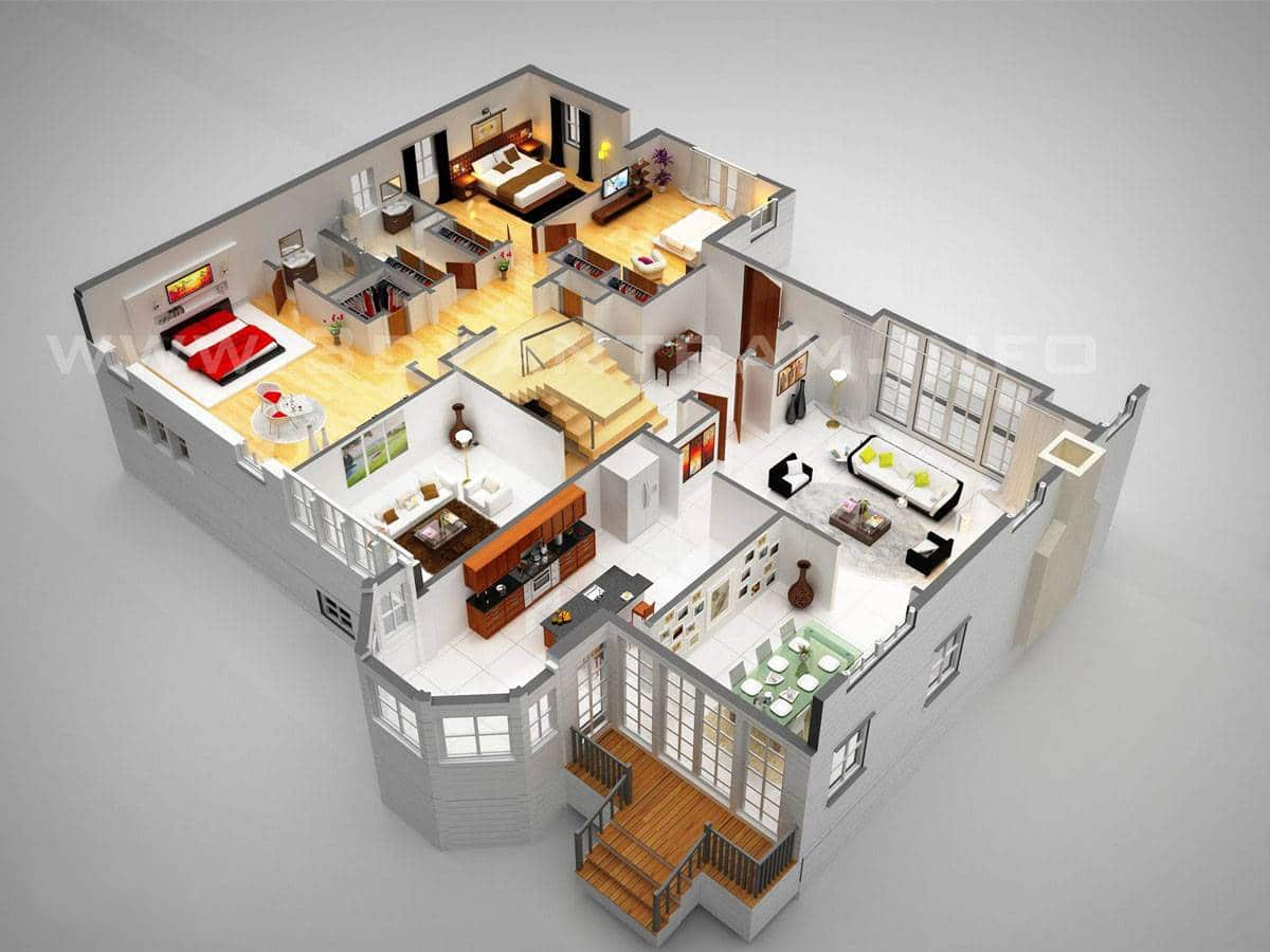 مخطط منزل مساحة 250