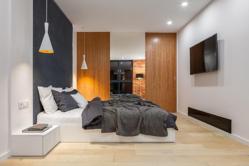 5 أفكار لوضع التلفزيون في غرفة النوم