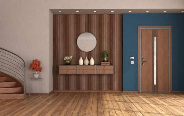 نماذج من الزخارف الخشبية للمداخل في المنزل الحديث