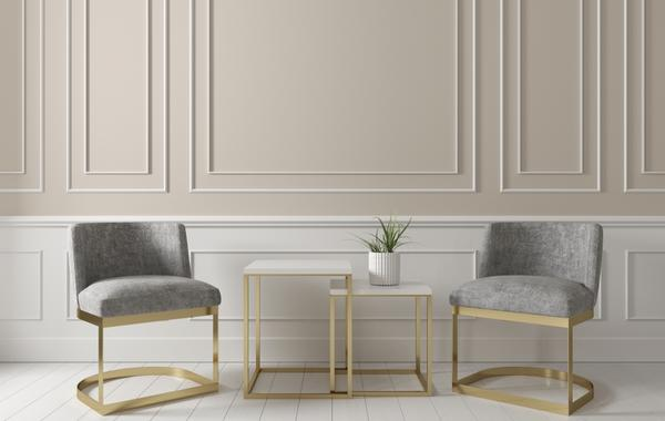 طاولات جانبية في ديكور غرفة المعيشة