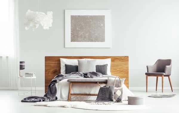 الفضة في ديكورات غرف نوم العروس