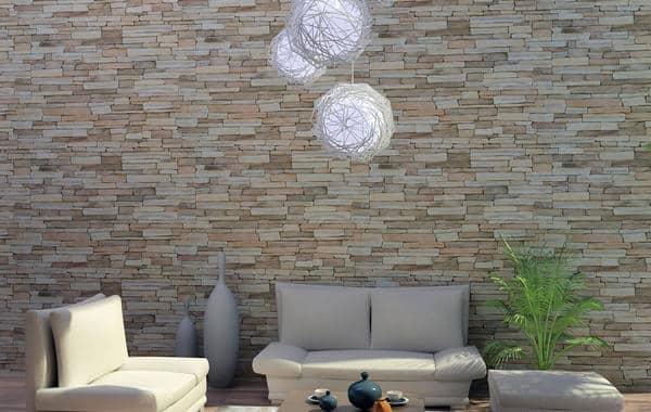 ديكورات حجر الأردواز في المنزل