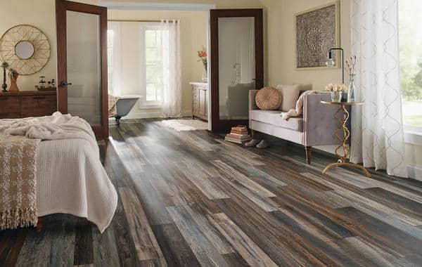 الفينيل كبديل للخشب في أرضيات غرف النوم