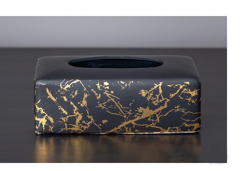 Nordic Ceramic Vase Marble Texture Black Gold Pattern Round Vases Artificial Flowers Floral Flower Arrangement Home Decor Modern