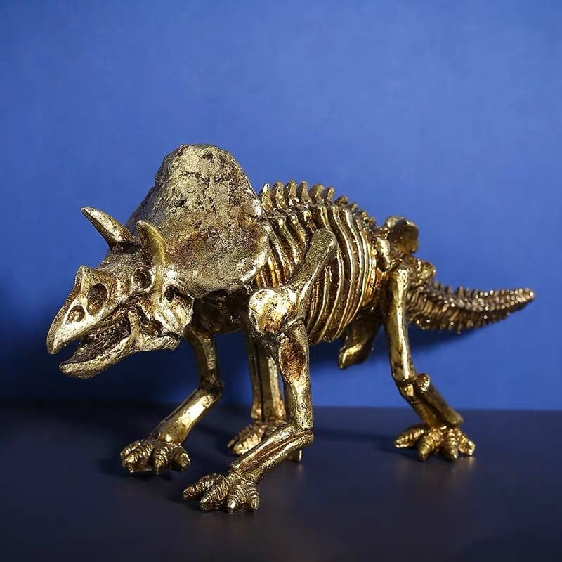 [MGT]Creative retro dinosaur fossil resin statue decoration home living room room decoration crafts